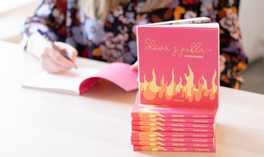 Kniha Slova z pekla Alexandry Kohoutové