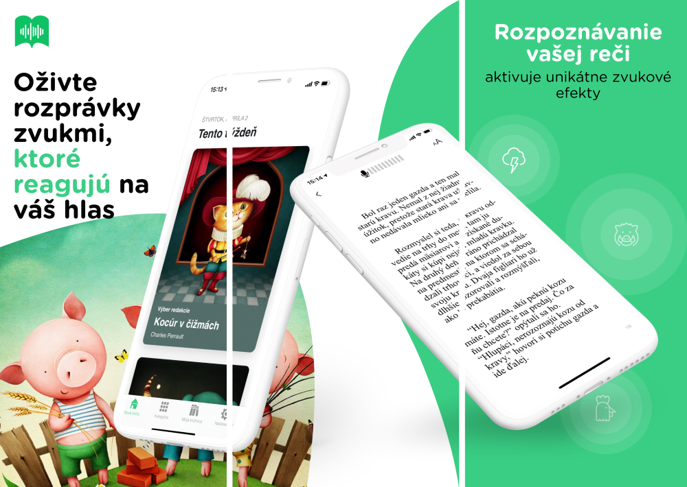 Aplikace Readmio